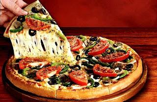 beleş pizza yeme yöntemi