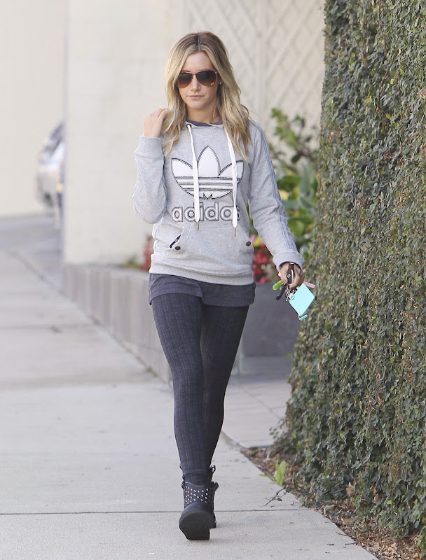 Ashley Tisdale running some errands in LA