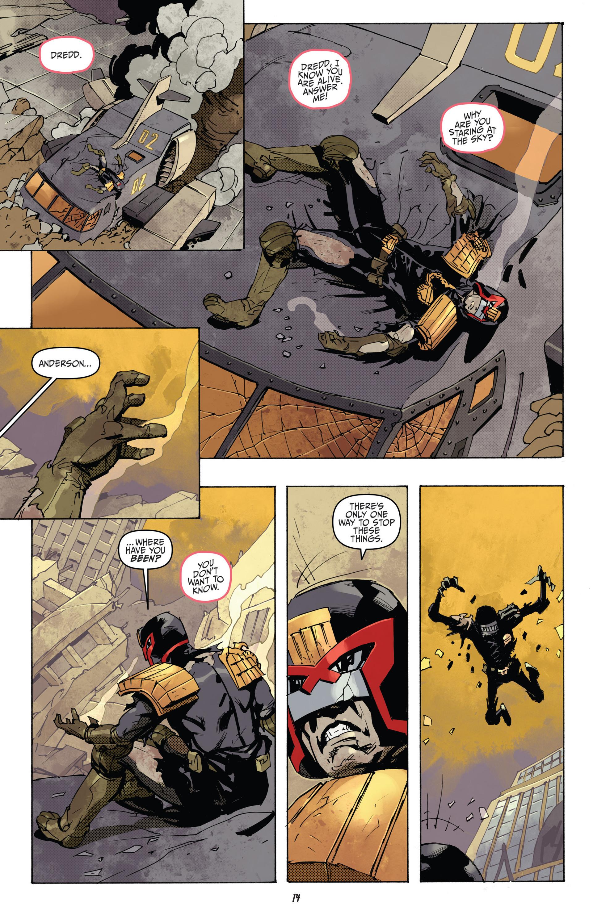 Read online Judge Dredd (2012) comic -  Issue #22 - 16