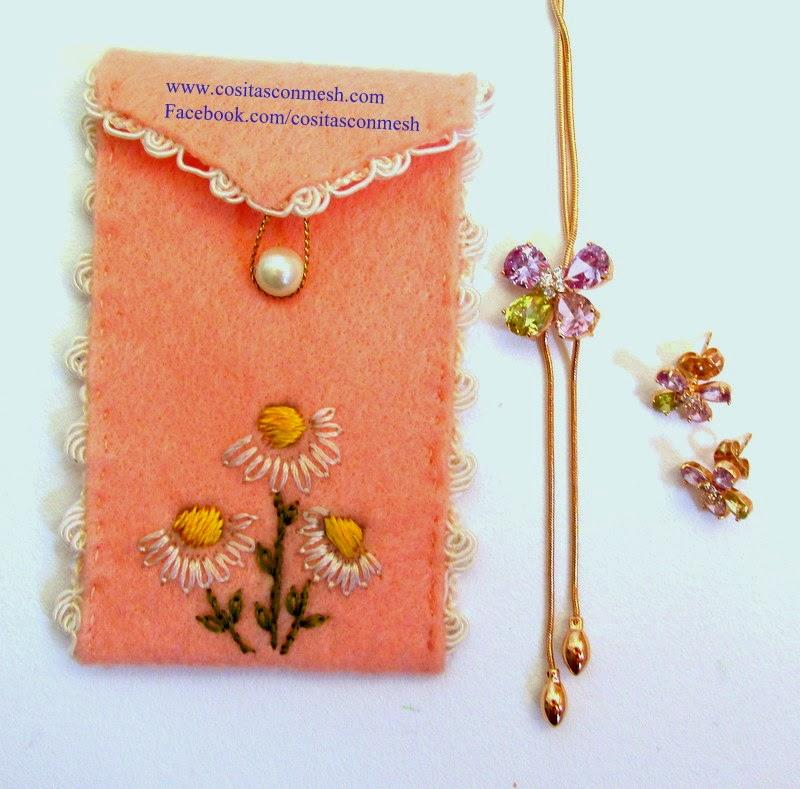 Bolsitas de regalo para el d a de la madre cositasconmesh - Regalos para hacer manualidades ...