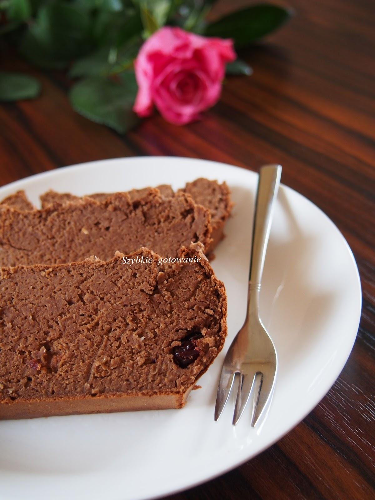 Zdrowe ciasto fasolowe bez mąki