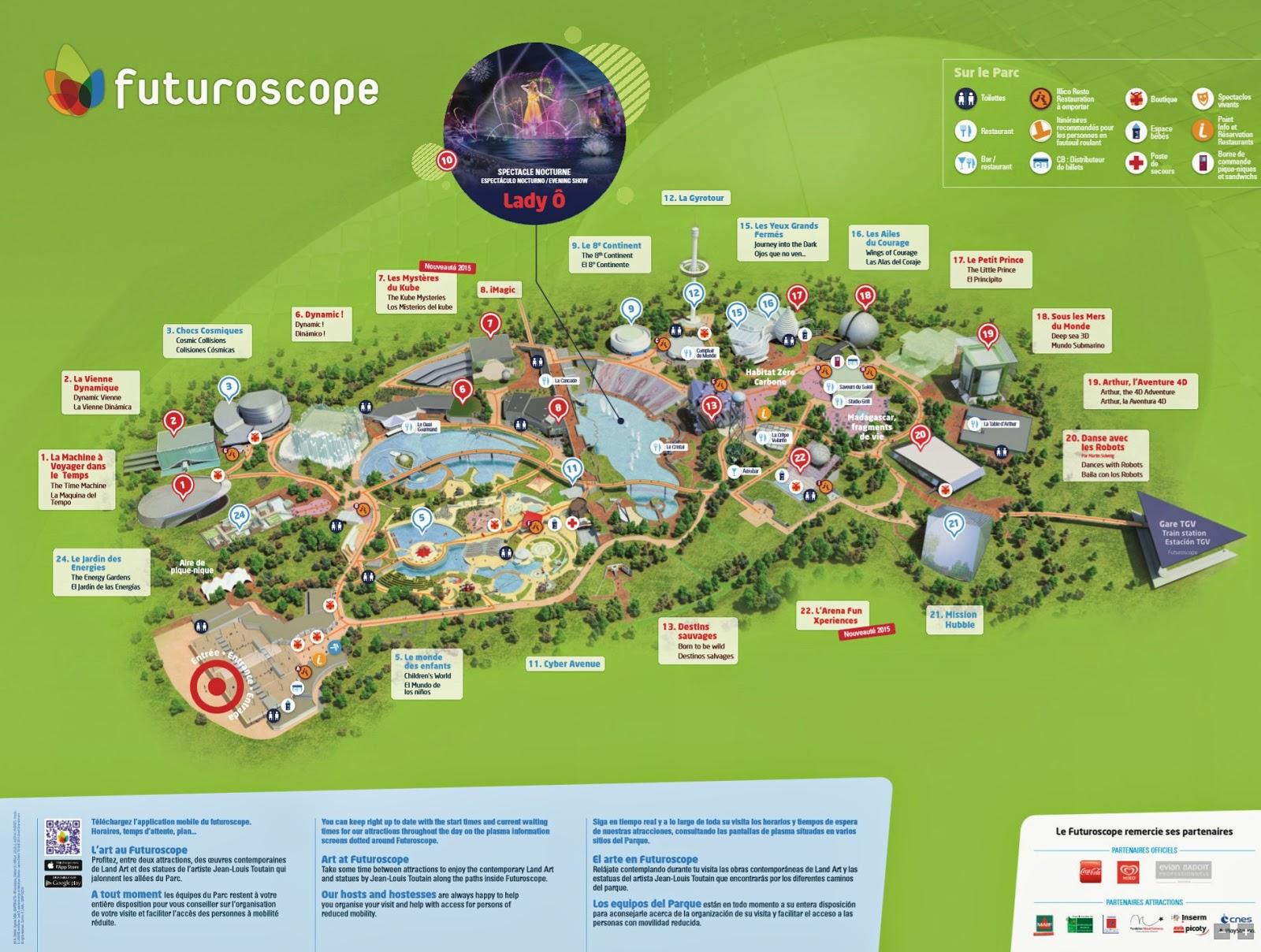 Parks trip futuroscope - Piscine pepiniere poitiers tarifs ...