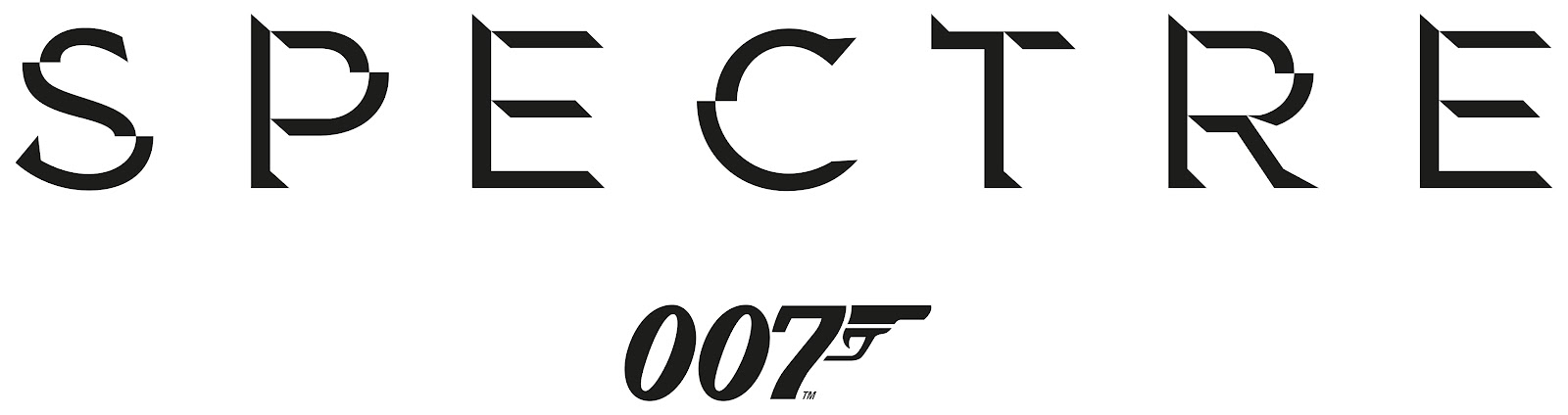 Bond 24 Spectre Official Logo Artwork
