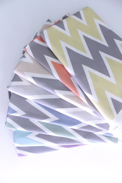 allisa jacobs fabric design chevron