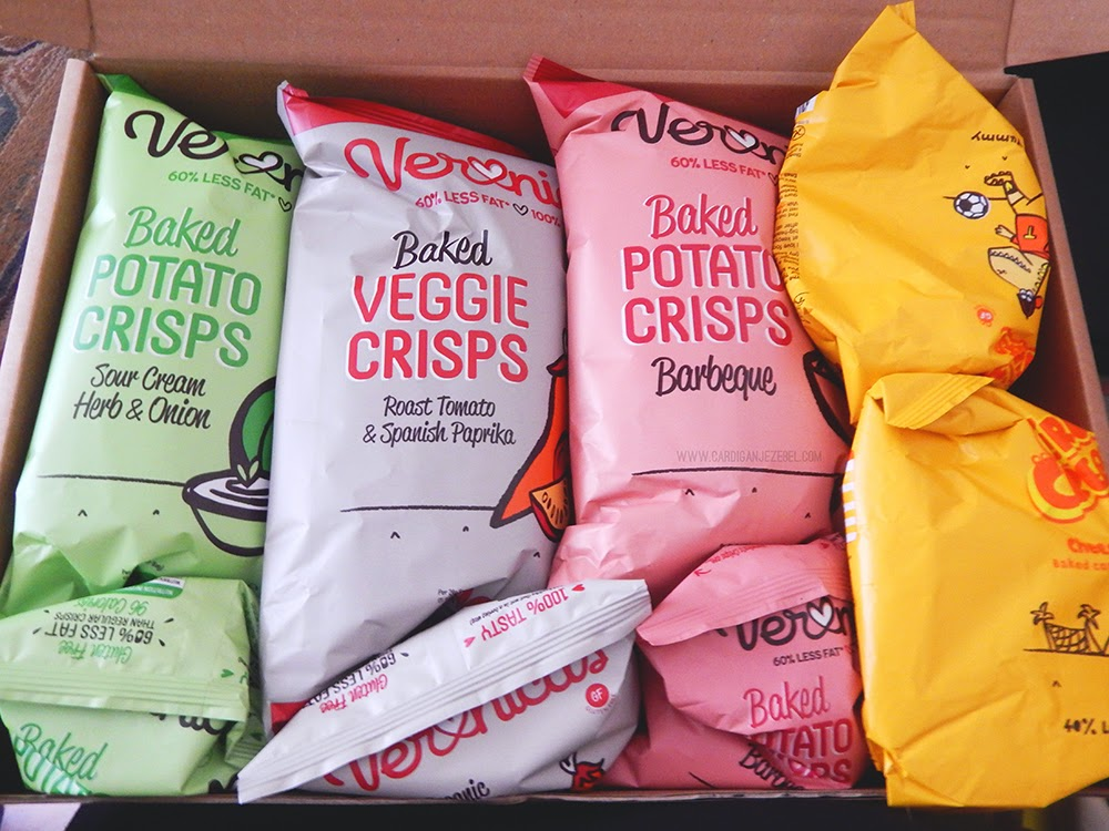 Veronica's Snacks range