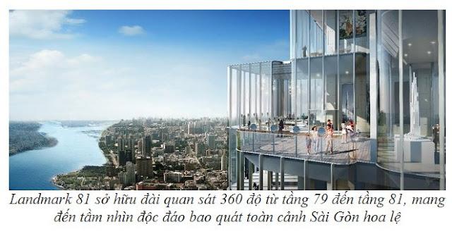Vinhomes LandMark 81 Thấy gì từ tòa tháp cao nhất Việt Nam?