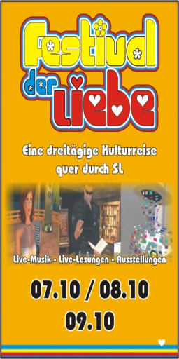 Festival der Liebe Plakat