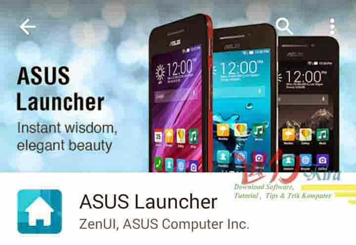 Cara Mengganti font Android tanpa root pada ZenUi Launcher