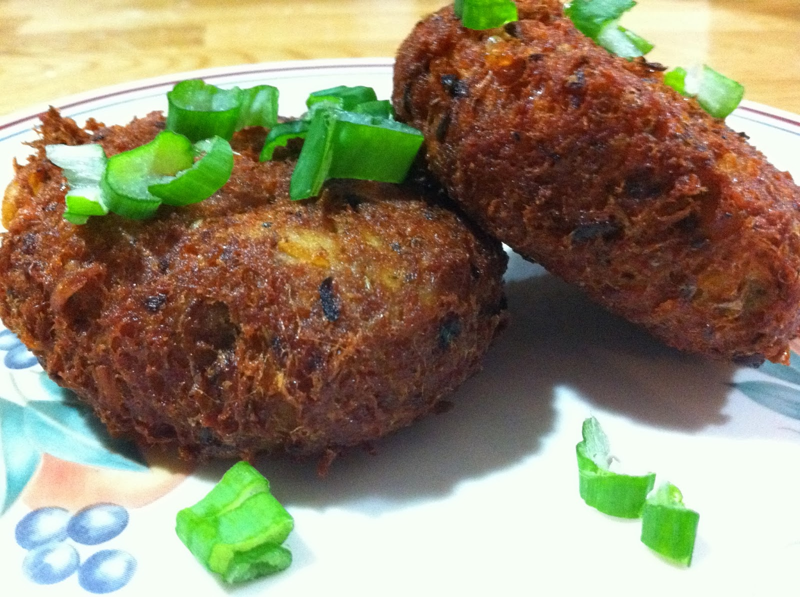 Tonight's Starter: Spicy Tuna Fish Cakes