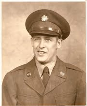 Dad in army uniform