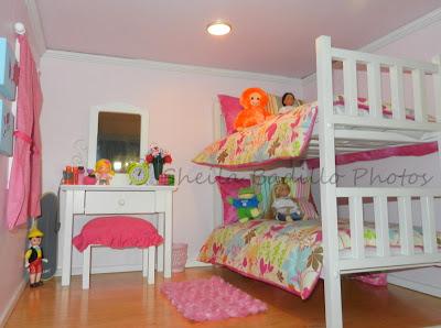 American girl doll play amazing american girl doll house - American girl bedroom ideas ...