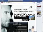 Free Sample of Adam Levine Fragrance