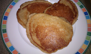 ... and Baby food: Apple Cinnamon Oatmeal Pancakes for the Whole Family