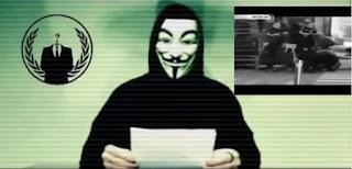 بالفيديو: منظمة أنونيموس تتوعد بالرد !