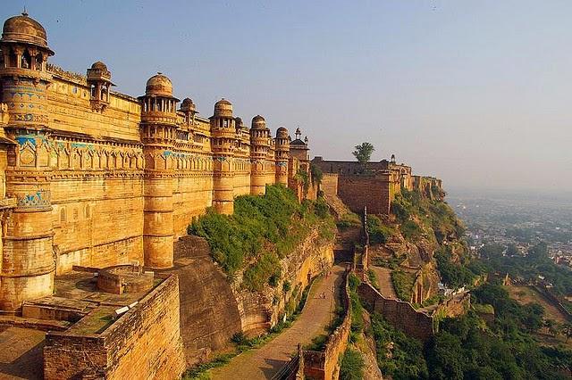 Gwalior Fort in Gwalior, Madhya Pradesh