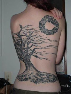 Tree Tattoos, Tattooing