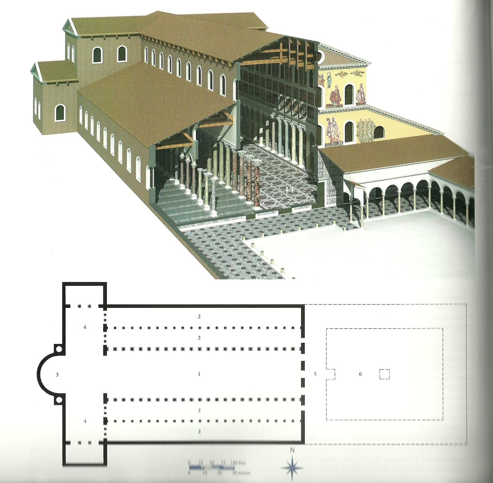 The Church Is Also Notable For Its Atrium And Narthex Two Features That Dont Really Make It Into Romanesque Gothic Plans Though They Are Adopted