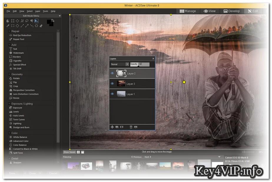 ACD Systems ACDSee Pro v8.0.0.263 Full Key,Phần mềm quản lý và chuyển đổi hình ảnh