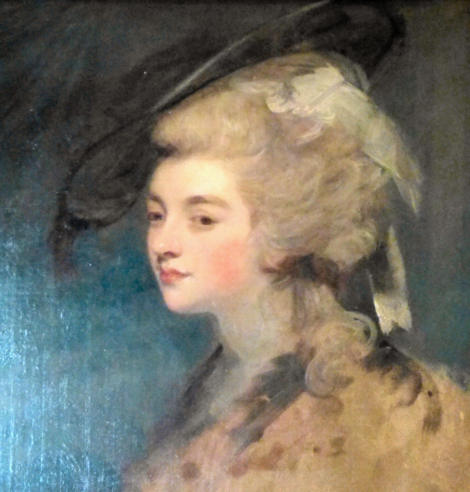 Georgiana Cavendish, Duchess of Devonshire  (painting in the South Sketch Gallery)
