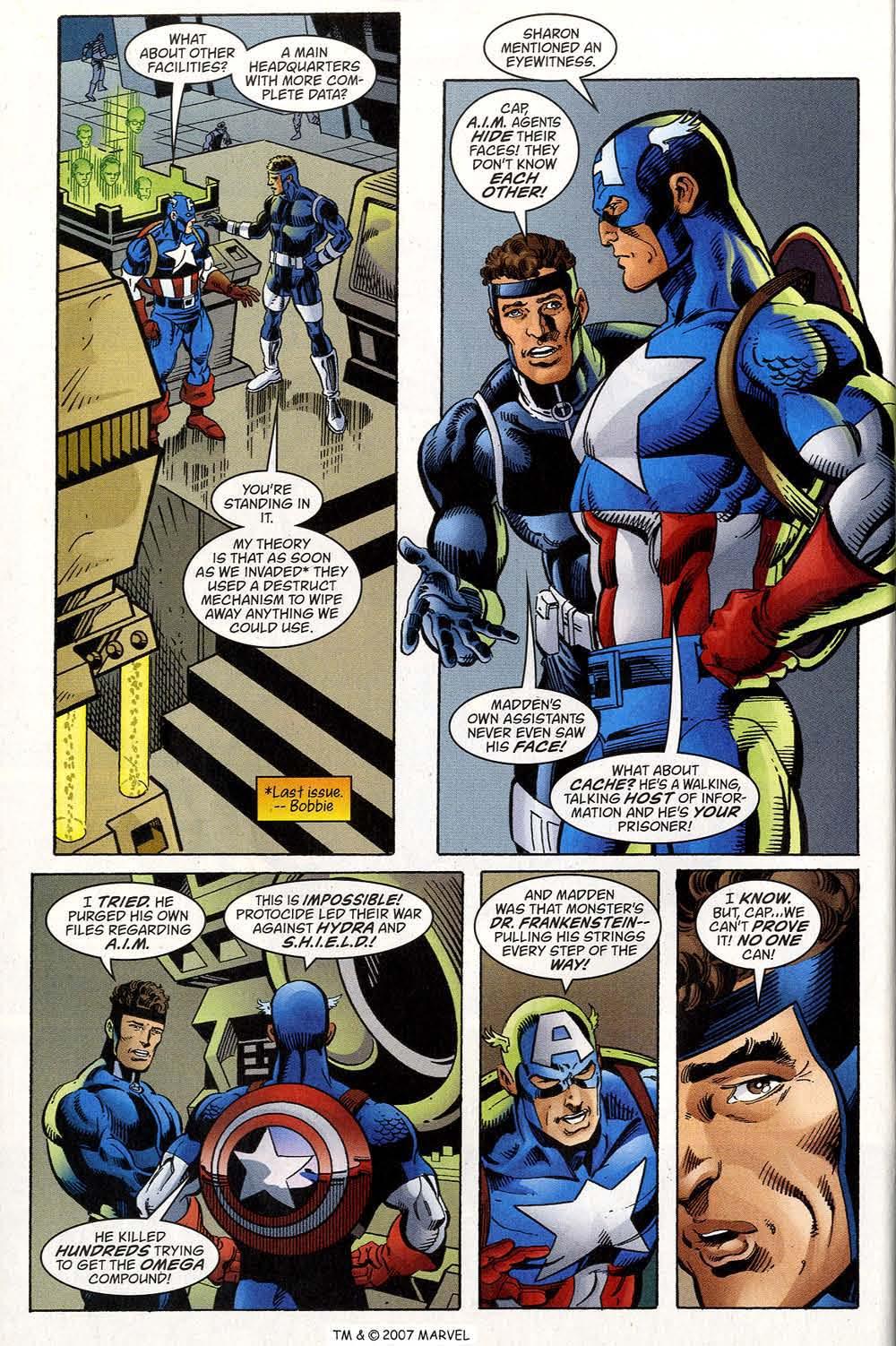 Captain America (1998) Issue #40 #47 - English 16