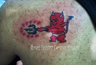 Cute Devil Tattoo Designs