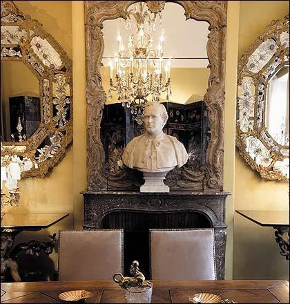look at the gorgeous detail on this venetian mirror