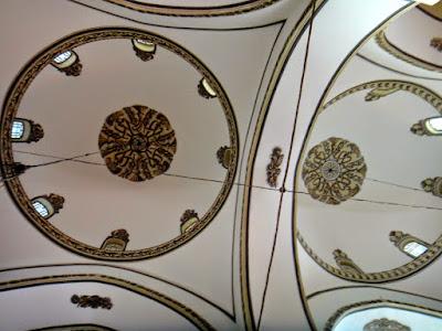 Ceiling Dome Design of Grand Mosque of Bursa Turkey