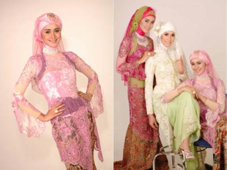 Glowing dengan Kebaya Muslimah | Tutorial Hijab