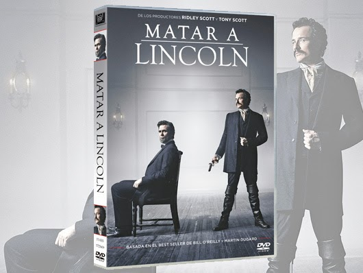 Desde el 9 de octubre est� a la venta en DVD Matar a Lincoln, de la mano de Twentieth Century Fox Home Entertainment. Basada en el Best Seller de The New York Times, Matar a Lincoln es una intri - A la venta en DVD