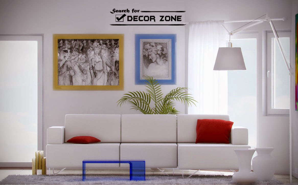 July 2014 for Living room white furniture ideas