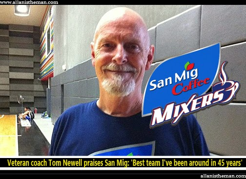 Veteran coach Tom Newell praises San Mig: 'Best team I've been around in 45 years'
