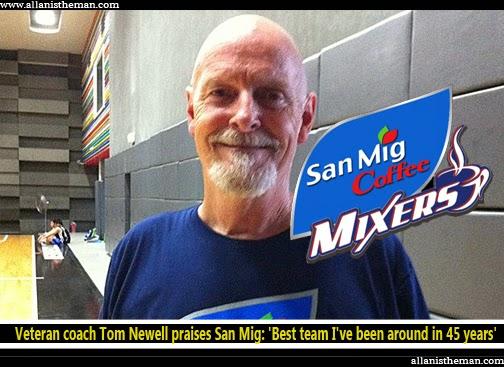 Veteran coach Tom Newell praises San Mig: 'Best team I've been around in 45 years'