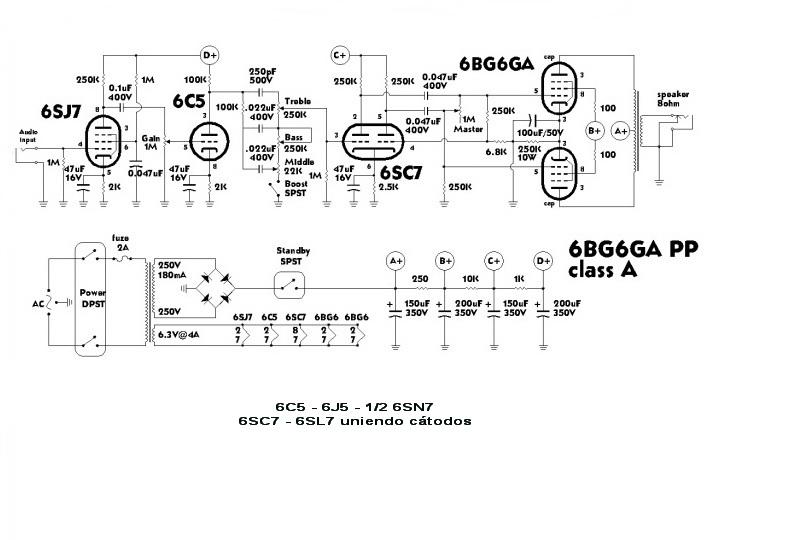 Circuito Guitarra Electrica : Información electrónica bg a amplificador para guitarra