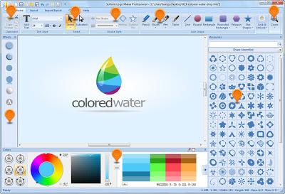 تنزيل برنامج تصميم و صناعة اللوجو و الشعارات Sothink Logo Maker Professional 4.4
