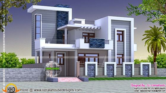 Contemporary style home