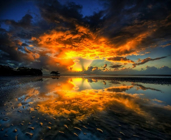 beautiful sunrise photography