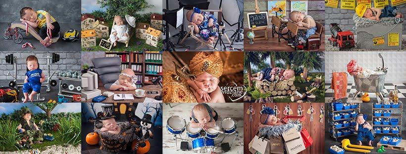 Fotografia noworodkowa, sesje rodzinne i zdjęcia dziecięce Grzegorza i Marzeny