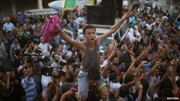 Israel Palestin setuju perang tujuh minggu ditamatkan