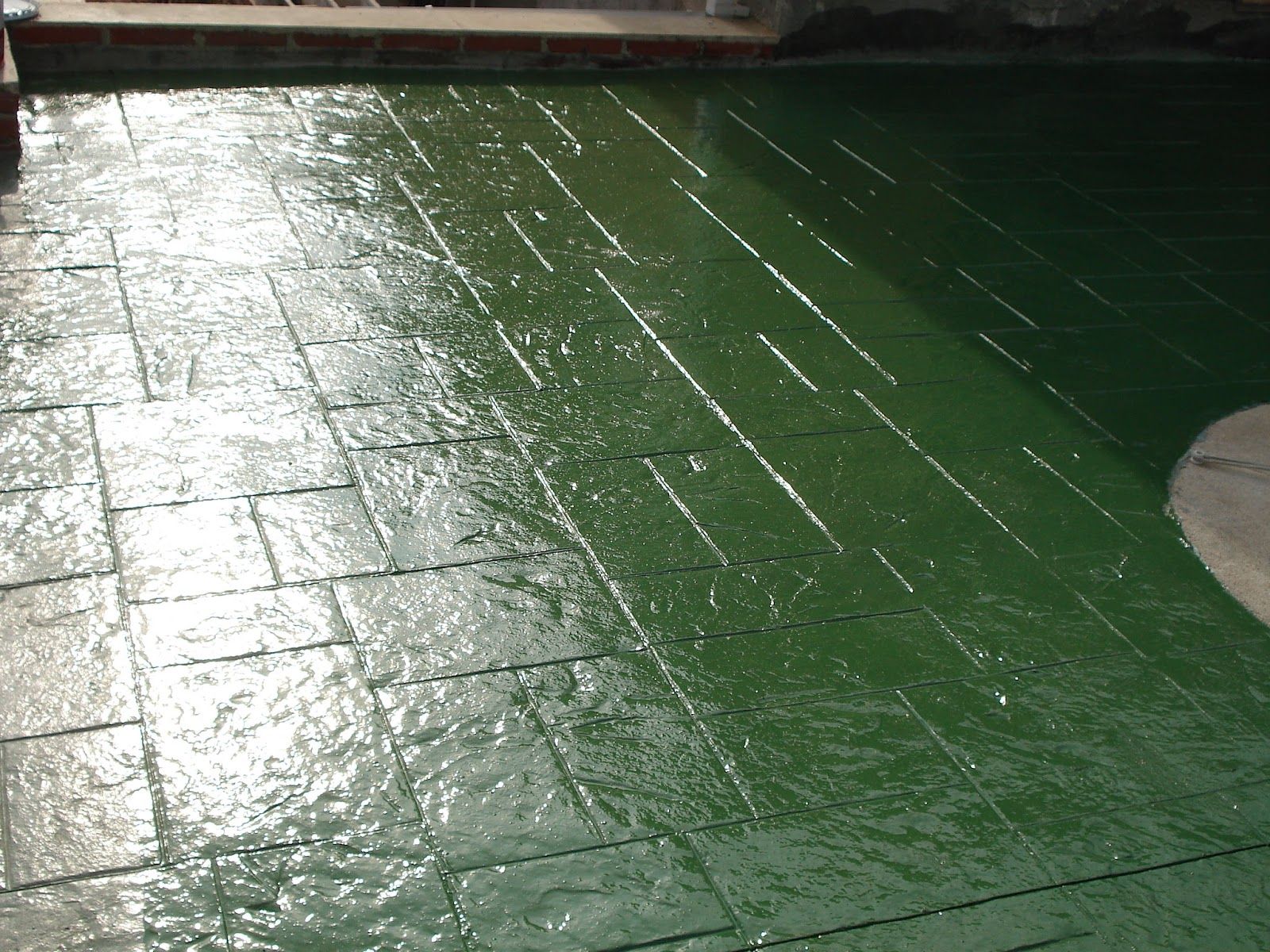 La resina para suelos de impreso se pega blog tu for Pigmento para cemento