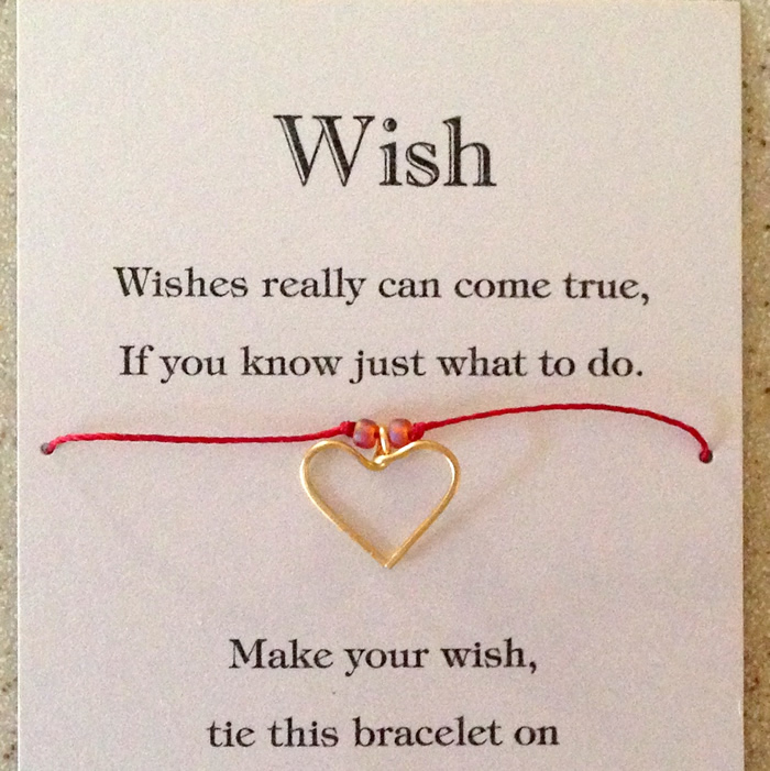 Lisa Yang S Jewelry Blog Wish Bracelet Charms Card And