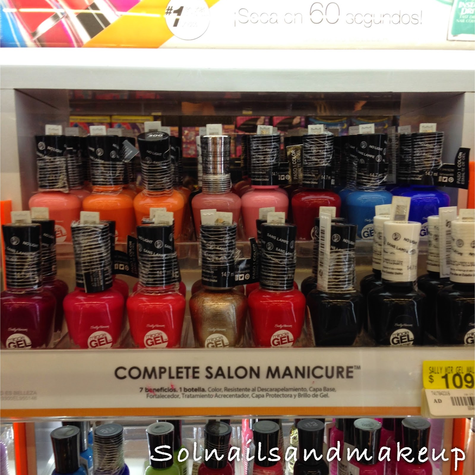how to use sally hansen gel nail kit