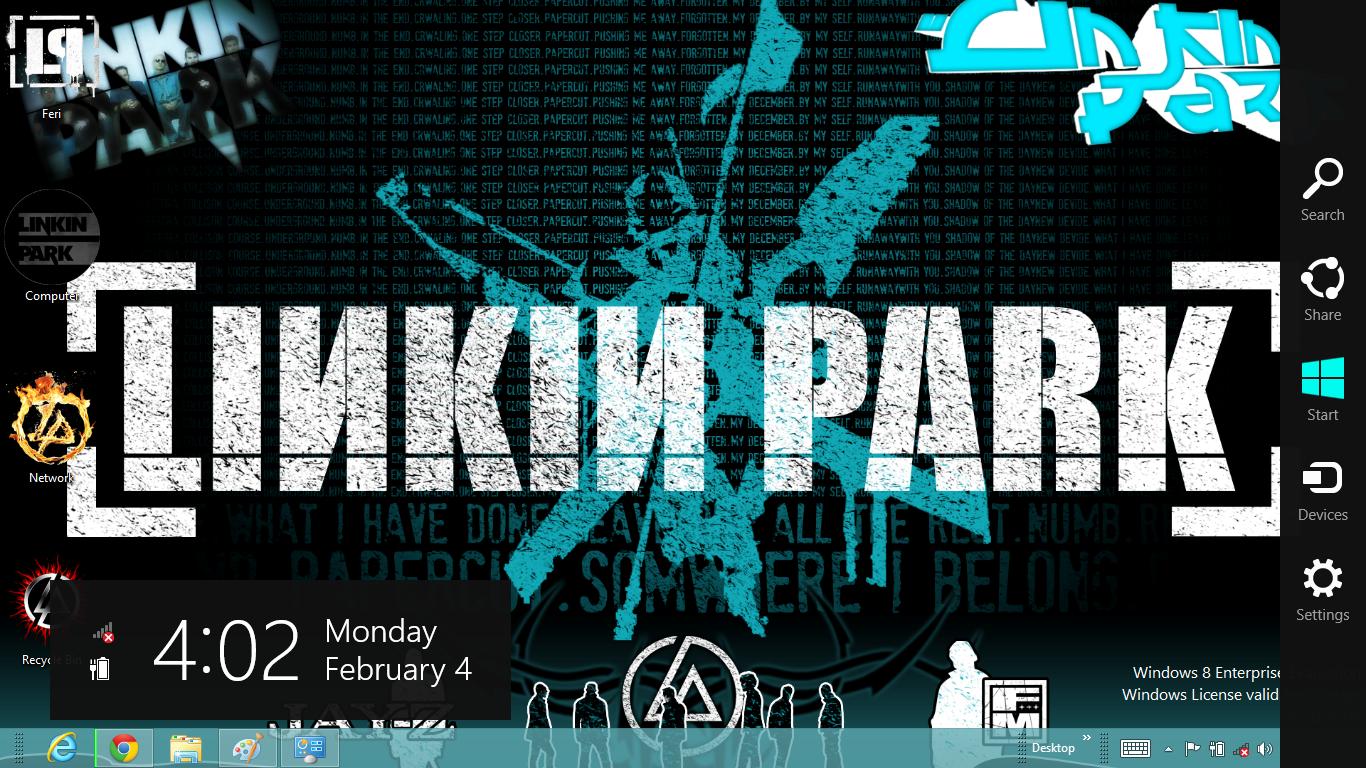 Google themes linkin park - Linkin Park Theme For Windows 8
