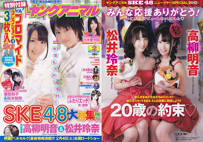 Young Animal 2012 No.02 SKE48