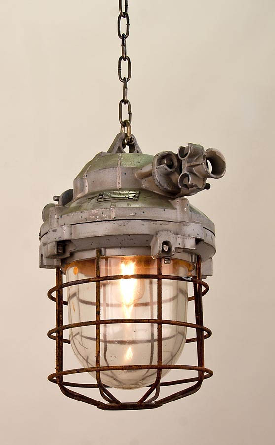reclaimed industrial lighting. Large Reclaimed Industrial Lamp From Holland Lighting G