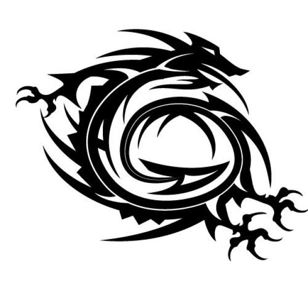 Gambar Tato Naga Keren