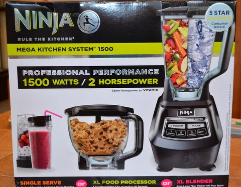 Behold my ninja mega kitchen system 1500 watts now that s powerful
