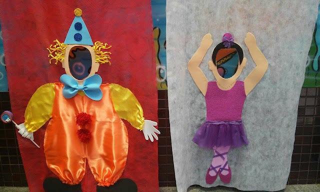 Decoração Projeto Mundo Encantado do Circo