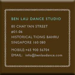 BEN LAU DANCE CONTACT