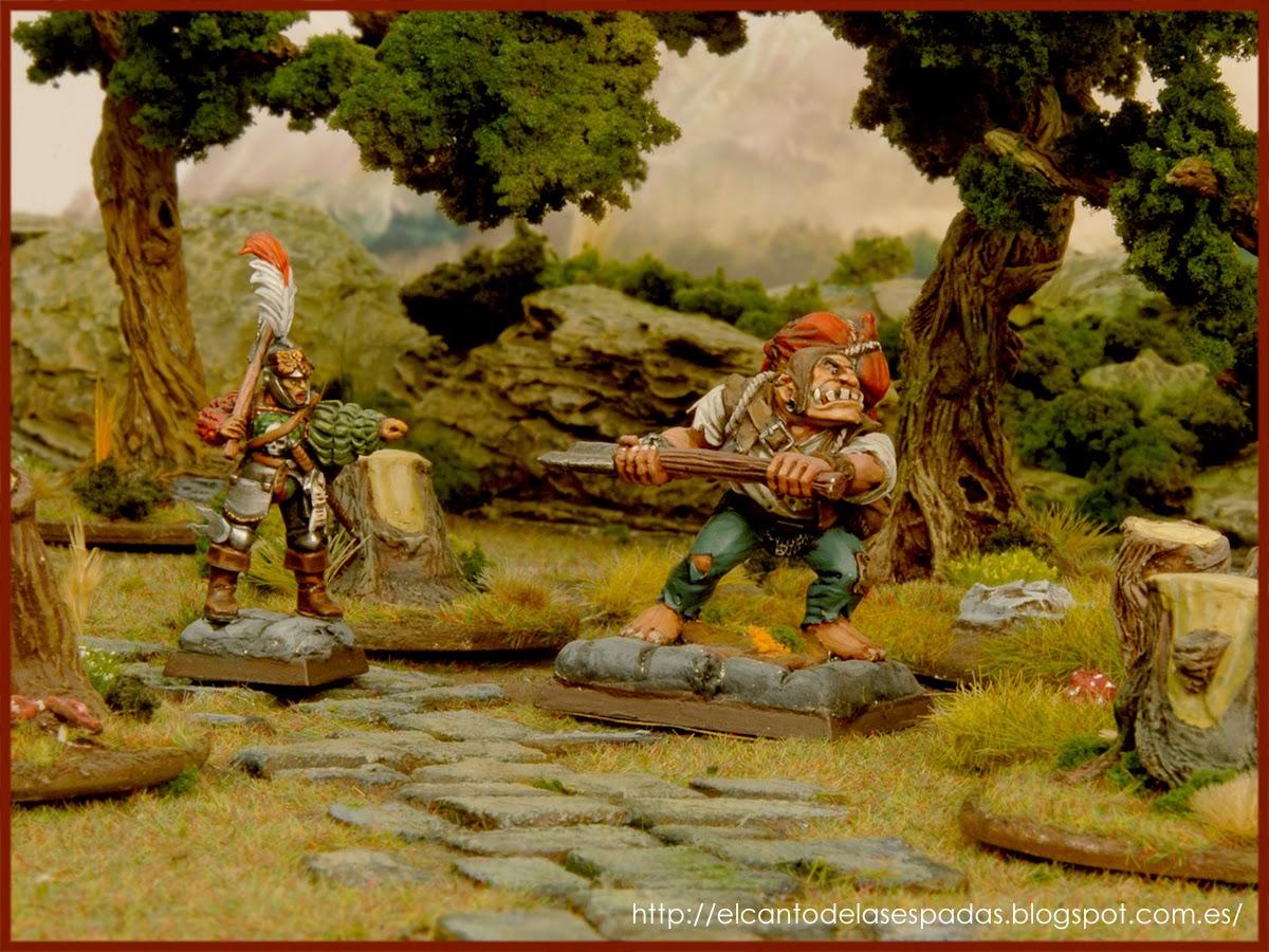 LastSword, EL Canto de las Espadas Imperio-Empire-Soldados-Estatales-State-Troops-Espadachines-Warhammer-Fantasy-Ogre-Captain