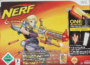 Nerf N-strike box.